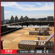 Factory Price Outdoor Wpc Interlock Composite Decking
