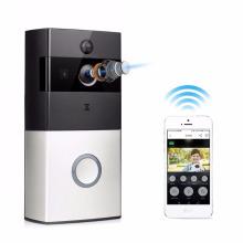deux voies audio intercom anneau pro wifi vidéo sans fil sonnette avec récepteur carillon