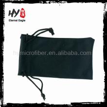 bolso de microfibra de uso general con logo impreso (bolsa para celular), bolsitas de lápiz baratas, estuche para gafas de sol suave y fresco