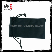todos os fins logo impressão saco de microfibra (bolsa de telefone celular), bolsas de lápis baratos, legal caso de óculos de sol macio