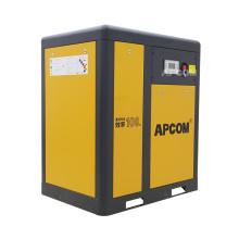 APCOM 2020 hot sale 22KW 30HP yellow color  rotary screw air compressor