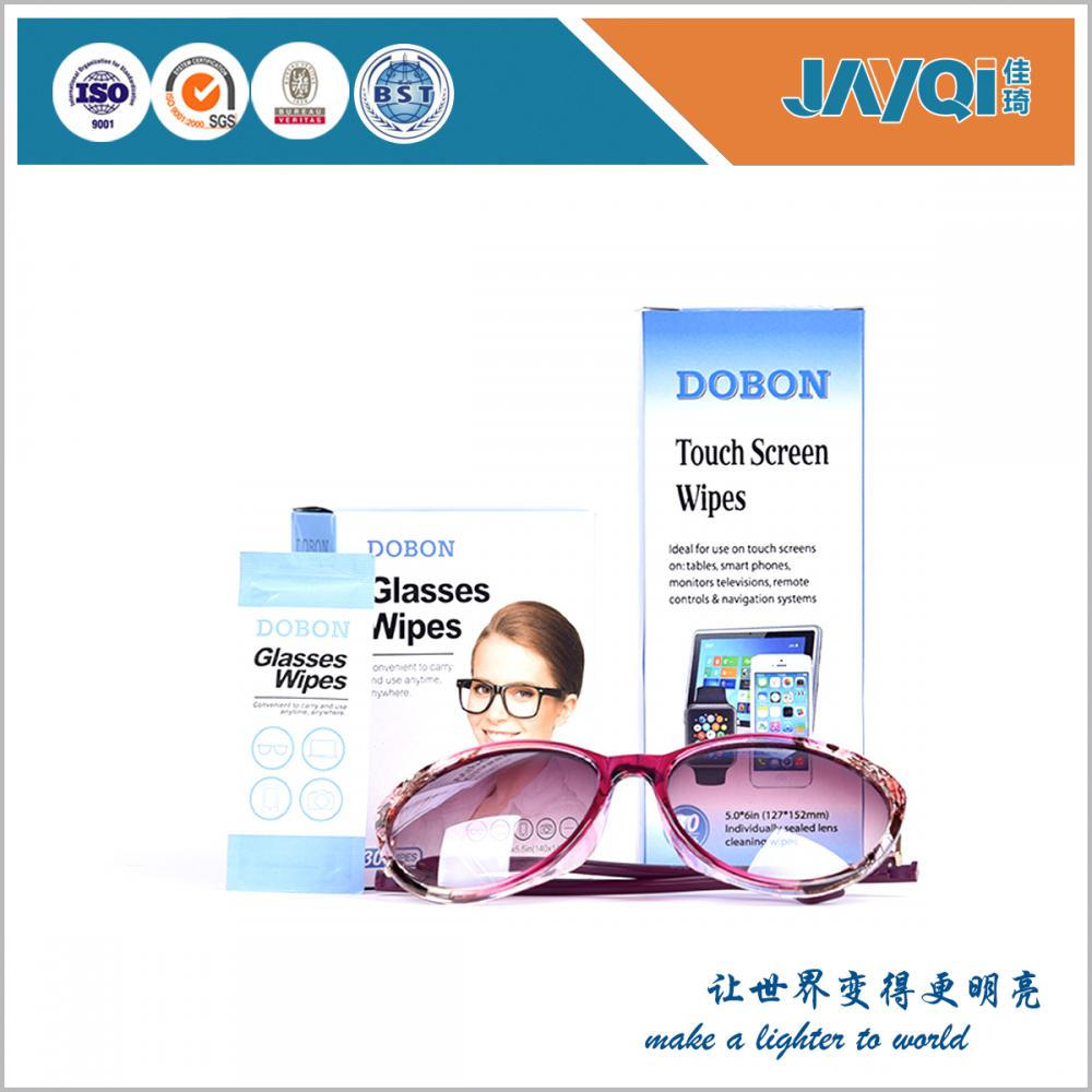 Free Sample Soft Lens Clean Wet Wipes