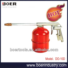 Air Washing Gun with pot Air Cleaning Gun with red pot