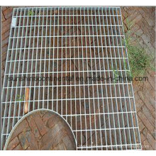 Hot Dipped Galvanized Catwalk Platform Steel Grating Drain Cover