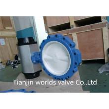 Válvula Borboleta com Tampão Completo em PTFE (D671X-10/16)