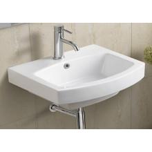 Bassin de salle de bains en céramique suspendu (611)