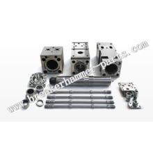 Hydraulic Breaker Hammer Spare Parts Chisel Holder/Front Head/Mid Head/Back Head Cylinder