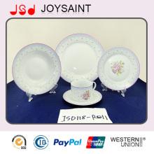 Ensemble de vaisselle Porcerlain pour utilisation à la maison