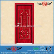 JK-MW9001 2014 modernos projetos de portas de madeira de melanina