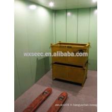 Stable en acier inoxydable ascenseur ascenseur
