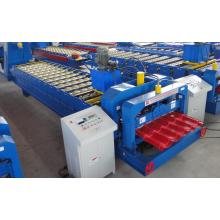Filipina gaya Glazed Steel Tile Roll Forming Machine