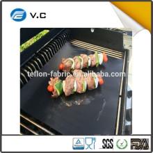 Free Sample New Product Black Barbecue BBQ grill mat Manufacture in Jiangsu