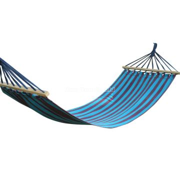 Wholesale Canvas Hammock Can Be Customized for Camping Hammock with Wooden