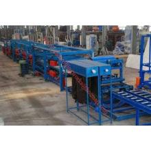Высокоскоростная автоматическая линия для производства сэндвич-панелей из EPS и Rock Wool