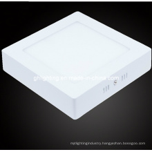 Warm & Cool White Square Ultrathin Panel Light with 12W (GH-PBD-52)