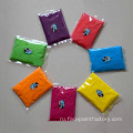 Organic holi paint color packets