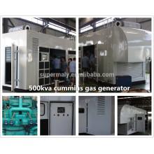 Генератор природного газа мощностью 250 кВт с ТЭЦ и ГГД