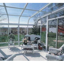 Materiais para telhados em estufa de policarbonato sólido no melhor preço de policarbonato