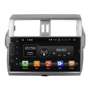 Autoradio GPS Navigation Head Unit voor PRADO 2014-2015