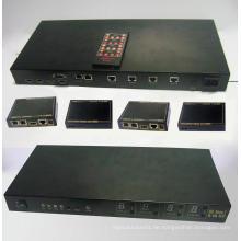 100m 4X4 HDMI Matrix Extender von Cat6e mit 3D und IR