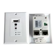 30 m HDMI sobre doble UTP (Cat5e / 6) Cable Wallplate Extender