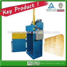 Baler machine for hay and straw