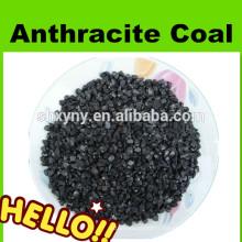 traitement de l'eau filtre média charbon anthracite avec différentes teneur en carbone