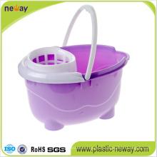 Squeeze Plastic Mop Bucket Wringer mit Rädern