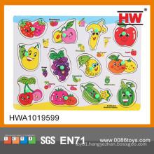 Educational wooden puzzle handheld puzzle games puzzle importer