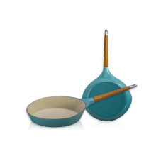 Индукционные плиты наборы чугунная деревянная ручка сковорода