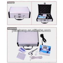 Professional LCD digital permanente maquiagem taooo lip tattoo machine set