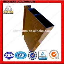 China perfil de alumínio de alta qualidade para curtainwall