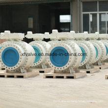 Válvulas de bola de brida de uso industrial de gran tamaño