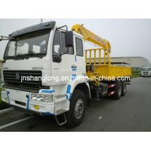 5 Ton Truck Mounted Cranes /XCMG Telescopic Boom Crane