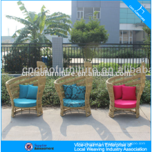 UV-resistant synthetic rattan garden furniture rattan wing chair