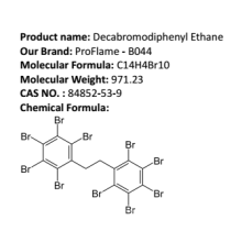 MSDS Decabromodiphenyl Ethane-Fire