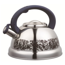 Panitng Red Flower Pattern Whistling Kettle