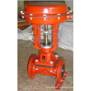 Válvula de diafragma de acero fundido (G641)