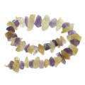 Горячий продавая естественный камень смешивает цвет кварц отбортовывает шарики gemstone 44pcs / strand отверстия 2.5mm / strand 2.5mm
