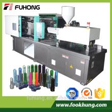 Ningbo fuhong vollautomatischen 180ton Haustier Preform Kunststoff Spritzgießmaschine Preis mit fester Pumpe