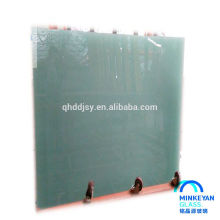 safety clear colored bent tempered glass for building