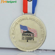 Custom Medal Awards With Soft Enamel