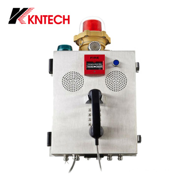 Telefone de incêndio Knzd-41 Sistemas de comunicação de chamada de emergência
