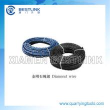 El diamante de alta calidad vio el alambre para cortar el mármol