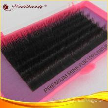 Siberian C Curl Mink Fur Eyelashes Extensions Natural Looking
