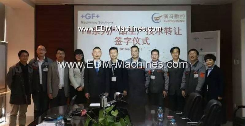 AgieCharmilles Molybdenum Wire cut EDM Machine