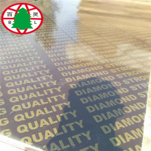 High Quality for 18Mm Brown Film Faced Plywood Melamine finger joint core film faced plywood export to Uganda Importers