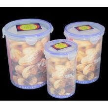 Набор пластиковых пищевых контейнеров 3PCS