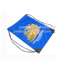 silkscreen print 190T polyester backpack