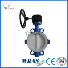 With high quality mini butterfly handle ball valve